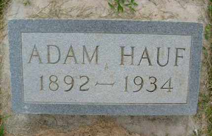 HAUF, ADAM - Boulder County, Colorado | ADAM HAUF - Colorado Gravestone Photos