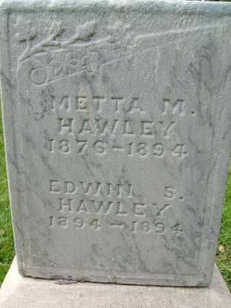 HAWLEY, METTA M. - Boulder County, Colorado | METTA M. HAWLEY - Colorado Gravestone Photos