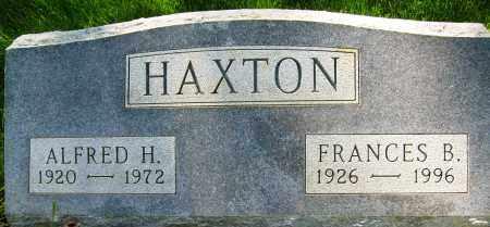 HAXTON, FRANCES B. - Boulder County, Colorado   FRANCES B. HAXTON - Colorado Gravestone Photos