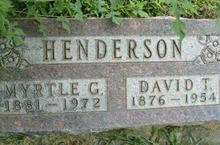 HENDERSON, DAVID T. - Boulder County, Colorado | DAVID T. HENDERSON - Colorado Gravestone Photos