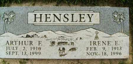 HENSLEY, IRENE E. - Boulder County, Colorado   IRENE E. HENSLEY - Colorado Gravestone Photos