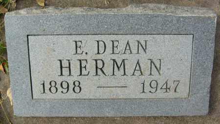 HERMAN, E. DEAN - Boulder County, Colorado | E. DEAN HERMAN - Colorado Gravestone Photos