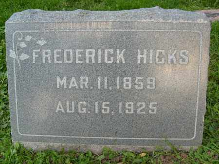 HICKS, FREDERICK - Boulder County, Colorado | FREDERICK HICKS - Colorado Gravestone Photos