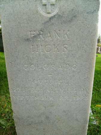 HICKS, FRANK - Boulder County, Colorado | FRANK HICKS - Colorado Gravestone Photos