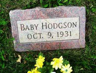 HODGSON, (BABY) - Boulder County, Colorado | (BABY) HODGSON - Colorado Gravestone Photos