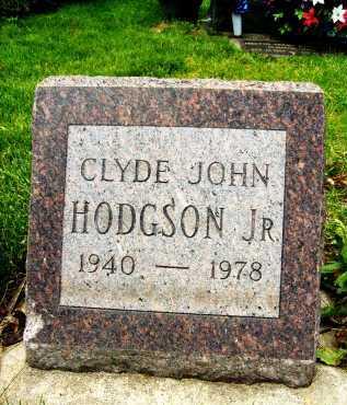 HODGSON, CLYDE JOHN, JR. - Boulder County, Colorado | CLYDE JOHN, JR. HODGSON - Colorado Gravestone Photos