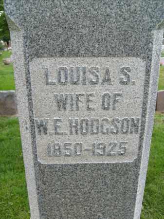 HODGSON, LOUISA S. - Boulder County, Colorado   LOUISA S. HODGSON - Colorado Gravestone Photos