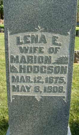 HODGSON, LENA E. - Boulder County, Colorado | LENA E. HODGSON - Colorado Gravestone Photos