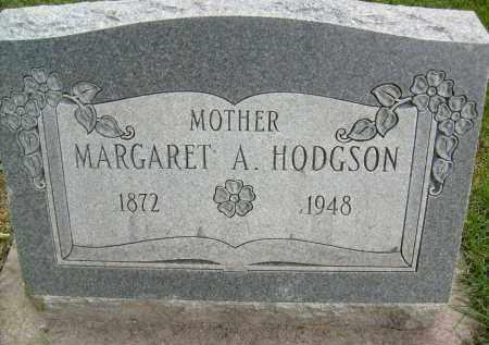 HODGSON, MARGARET A. - Boulder County, Colorado   MARGARET A. HODGSON - Colorado Gravestone Photos
