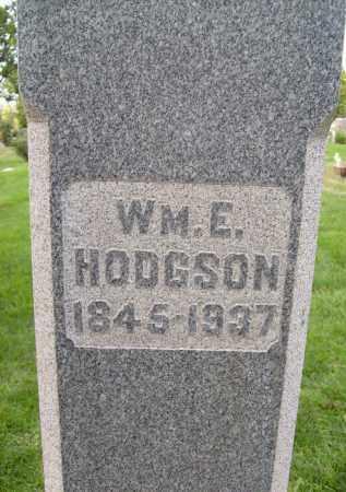 HODGSON, WM. E. - Boulder County, Colorado | WM. E. HODGSON - Colorado Gravestone Photos