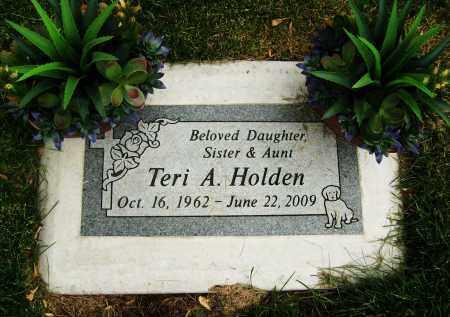 HOLDEN, TERI A. - Boulder County, Colorado | TERI A. HOLDEN - Colorado Gravestone Photos
