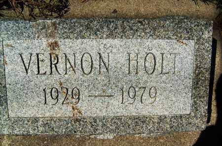 HOLT, VERNON - Boulder County, Colorado | VERNON HOLT - Colorado Gravestone Photos