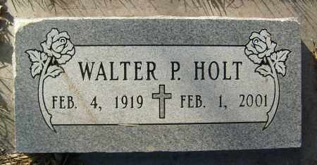HOLT, WALTER P. - Boulder County, Colorado | WALTER P. HOLT - Colorado Gravestone Photos