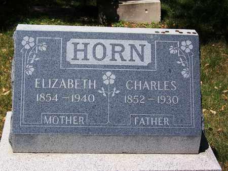 HORN, ELIZABETH - Boulder County, Colorado | ELIZABETH HORN - Colorado Gravestone Photos