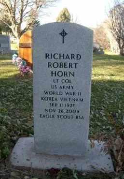 HORN, RICHARD ROBERT - Boulder County, Colorado | RICHARD ROBERT HORN - Colorado Gravestone Photos