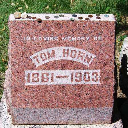 HORN, TOM (FAMOUS) - Boulder County, Colorado | TOM (FAMOUS) HORN - Colorado Gravestone Photos