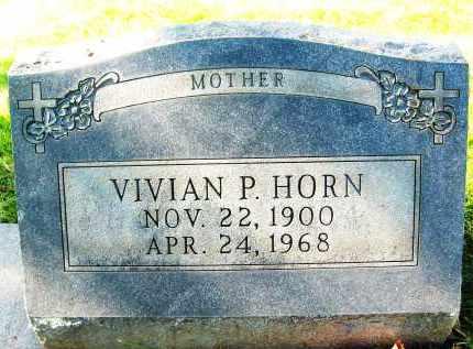 HORN, VIVIAN P. - Boulder County, Colorado | VIVIAN P. HORN - Colorado Gravestone Photos