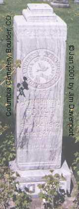 HOYLE, CATHERINE L. - Boulder County, Colorado | CATHERINE L. HOYLE - Colorado Gravestone Photos