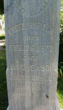 HUBACH, FRITZ - Boulder County, Colorado   FRITZ HUBACH - Colorado Gravestone Photos