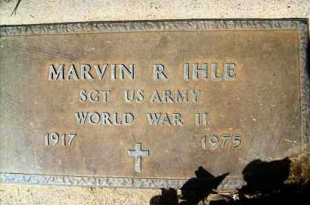 IHLE, MARVIN R. - Boulder County, Colorado   MARVIN R. IHLE - Colorado Gravestone Photos