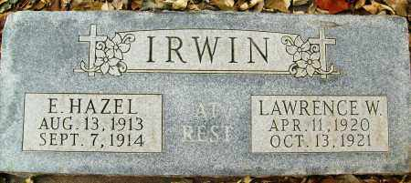 IRWIN, E. HAZEL - Boulder County, Colorado | E. HAZEL IRWIN - Colorado Gravestone Photos