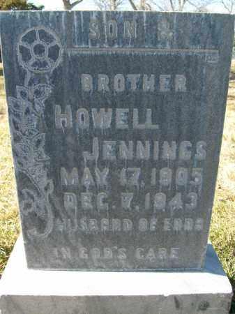 JENNINGS, HOWELL - Boulder County, Colorado | HOWELL JENNINGS - Colorado Gravestone Photos