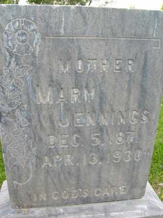 JENNINGS, MARY - Boulder County, Colorado   MARY JENNINGS - Colorado Gravestone Photos