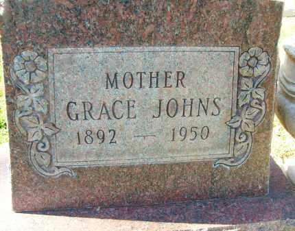JOHNS, GRACE - Boulder County, Colorado | GRACE JOHNS - Colorado Gravestone Photos