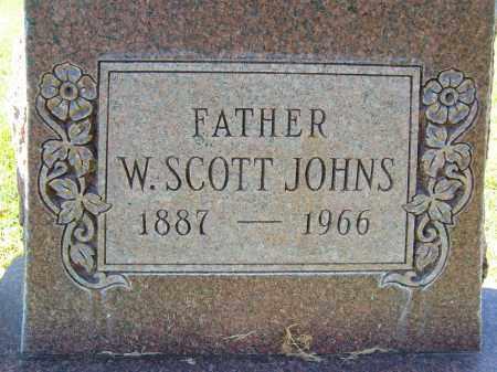 JOHNS, W. SCOTT - Boulder County, Colorado | W. SCOTT JOHNS - Colorado Gravestone Photos