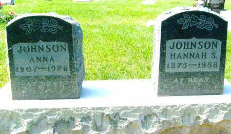 JOHNSON, HANNAH S. - Boulder County, Colorado | HANNAH S. JOHNSON - Colorado Gravestone Photos