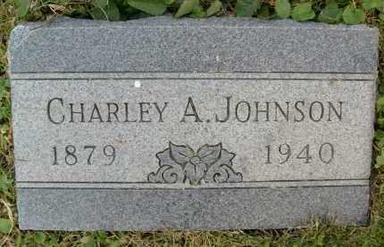 JOHNSON, CHARLEY A. - Boulder County, Colorado | CHARLEY A. JOHNSON - Colorado Gravestone Photos