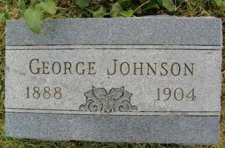 JOHNSON, GEORGE - Boulder County, Colorado | GEORGE JOHNSON - Colorado Gravestone Photos