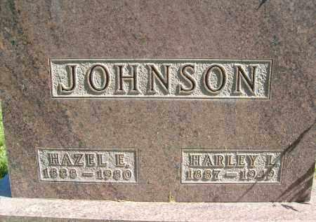 JOHNSON, HAZEL E. - Boulder County, Colorado | HAZEL E. JOHNSON - Colorado Gravestone Photos