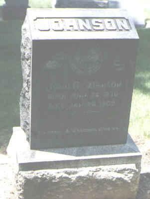 JOHNSON, JOHN G. - Boulder County, Colorado | JOHN G. JOHNSON - Colorado Gravestone Photos