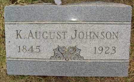 JOHNSON, K. AUGUST - Boulder County, Colorado | K. AUGUST JOHNSON - Colorado Gravestone Photos