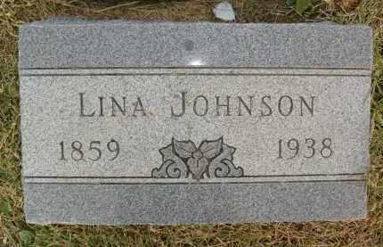 JOHNSON, LINA - Boulder County, Colorado | LINA JOHNSON - Colorado Gravestone Photos