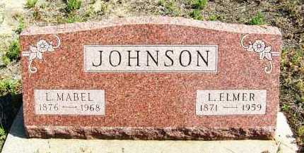 JOHNSON, L. ELMER - Boulder County, Colorado | L. ELMER JOHNSON - Colorado Gravestone Photos