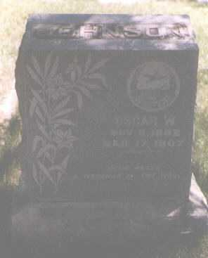 JOHNSON, OSCAR W. - Boulder County, Colorado | OSCAR W. JOHNSON - Colorado Gravestone Photos