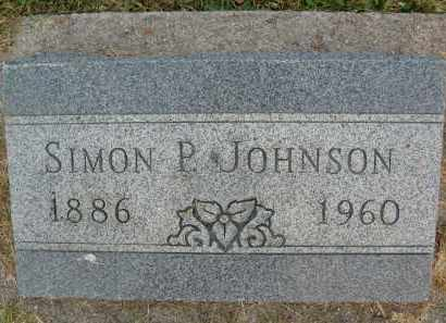 JOHNSON, SIMON P. - Boulder County, Colorado | SIMON P. JOHNSON - Colorado Gravestone Photos