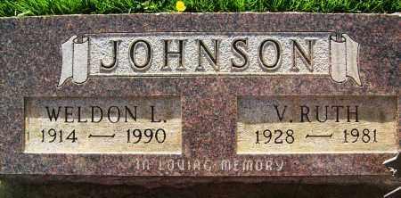 JOHNSON, WELDON L. - Boulder County, Colorado | WELDON L. JOHNSON - Colorado Gravestone Photos