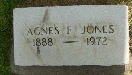 JONES, AGNES F. - Boulder County, Colorado | AGNES F. JONES - Colorado Gravestone Photos