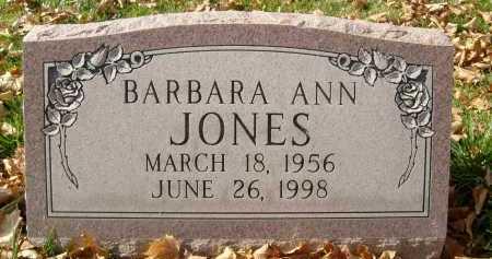 JONES, BARBARA ANN - Boulder County, Colorado | BARBARA ANN JONES - Colorado Gravestone Photos