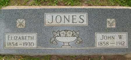 JONES, ELIZABETH - Boulder County, Colorado | ELIZABETH JONES - Colorado Gravestone Photos