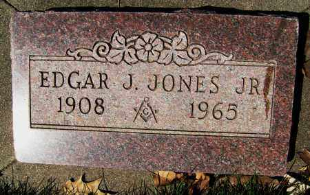 JONES, EDGAR J., JR. - Boulder County, Colorado   EDGAR J., JR. JONES - Colorado Gravestone Photos