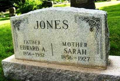JONES, SARAH - Boulder County, Colorado | SARAH JONES - Colorado Gravestone Photos
