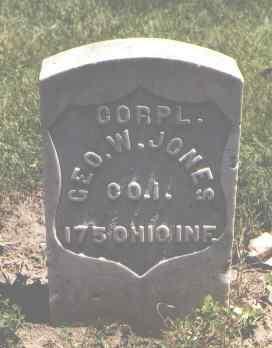 JONES, GEO. W. - Boulder County, Colorado   GEO. W. JONES - Colorado Gravestone Photos