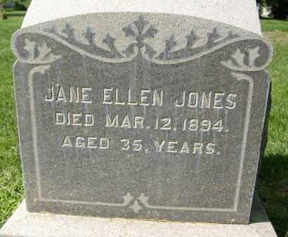 JONES, JANE ELLEN - Boulder County, Colorado | JANE ELLEN JONES - Colorado Gravestone Photos