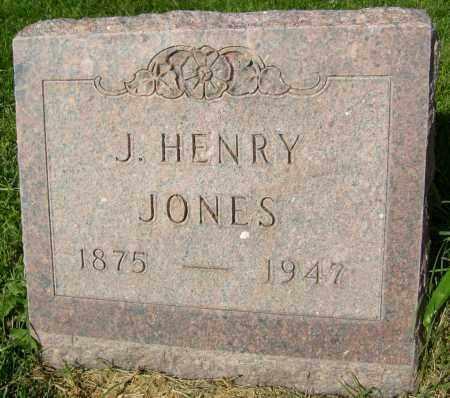 JONES, J. HENRY - Boulder County, Colorado   J. HENRY JONES - Colorado Gravestone Photos