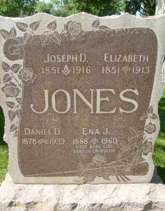 JONES, JOSEPH D. - Boulder County, Colorado | JOSEPH D. JONES - Colorado Gravestone Photos