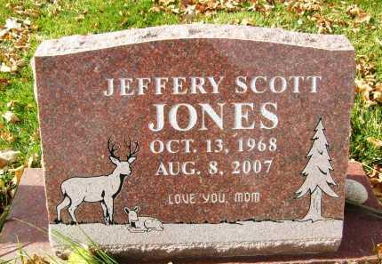 JONES, JEFFERY SCOTT - Boulder County, Colorado   JEFFERY SCOTT JONES - Colorado Gravestone Photos